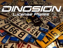 Dingsign - License Plates